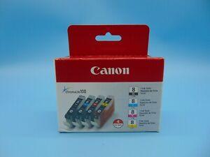 ✅ Genuine CANON CLI-8 4pack Black, Cyan, Magenta, Yellow