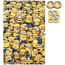 Despicable Me Minion Birthday Party Game For 6 - Pin the Eye on the Minion