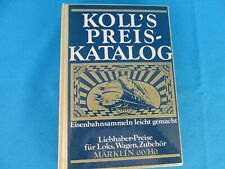 KOLL's Preiskatalog Märklin OO/HO 1982 D.