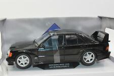 Solido 421185000 Mercedes Benz 190E Evo 2 Noir 1:18 Neuf Boîte D'Origine