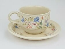 Poole Pottery Springtime Cup And Saucer