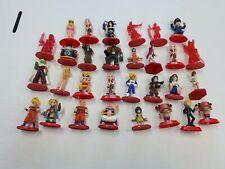 COCA COLA X FINAL FANTASY Naruto DBZ One Piece Lupin figure lot coke Dragonball
