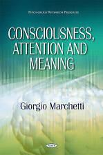 Conciencia, atención & significado (Psicología Investigación progreso) - LIBRO-NUEVO-Mar
