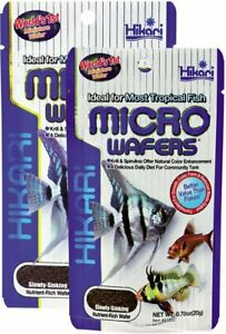 Hikari Micro Wafers 20g.45g Tropical Fish Tetra Guppy Food