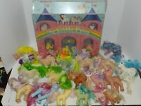 Vintage Lot 1982-1987 My Little Pony Collection + Case 18 Ponies Horses 1 Owner