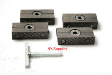 Letterpress Quoins and Quoin Key (Set 4) for Heidelberg Windmill, Kluge, Miehle