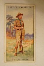 Vintage - 1900's - Ogdens - Boy Scouts - Series Card - A Rover Scout