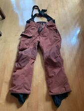 BURTON Outland + Snowboard Pants Size Men's Medium Rust