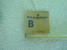 Olympic Airways -Vintage International Baggage Claim Tag-Athens-NYC