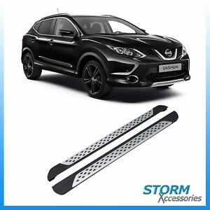 QASHQAI 2 l RUNNING BOARD STEP BAR SIDE STEPS BAR BOARD ACCESSORY 2007-2013