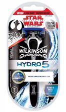 2 X Wilkinson Sword Hydro 5 Razor With 1 Blade Star Wars Edition