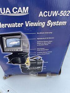 Aqua Cam Underwater View Camera Fish Finder ACUW-502 VU Ice Fishing System