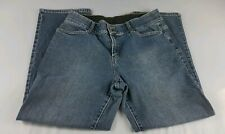 Fashion Bug Distressed Blue Jeans Size 16 Petite