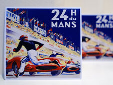 Les 24 heures du Le Mans Racing Poster Style Luggage Label Decal Sticker #3300