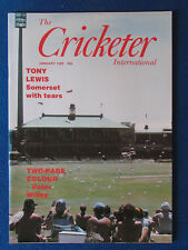 The Cricketer International Magazine - January 1980 -Sydney Cricket Ground Cover