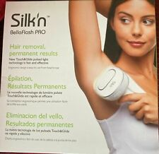 New Silk'n BellaFlash Pro Touch & Glide HPL Technology Hair Removal Device