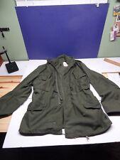 Vietnam Era Coat, Cold Weather OD Green Field Jacket Medium Regular