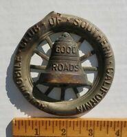 Vintage Automobile Club of Southern California Auto Car Emblem Badge