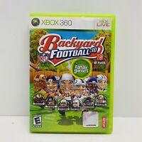 Backyard Football '10 CIB (Microsoft Xbox 360, 2009) *CLEAN*TESTED* Fast Ship