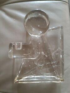 Vintage Wiesenthal Hutte Glass Angel Candle Holder