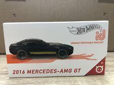 Hot Wheels Mercedes ID AMG GT ID schwarz gelb  1:64