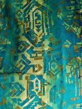 "New listing 4 Mid Century Modern Tiki Barkcloth Eames Nelson Era 80"" Curtain Drape Fabric"