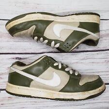Vintage Nike Dunk low Pro Lt stone/ faded olive 624044 Size 11 Skate Shoes SB