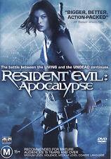 RESIDENT EVIL: APOCALYPSE Milla Jovovich DVD R4 - PAL