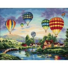 """Dimensions Gold Collection Counted Cross Stitch Kit Balloon Glow 12"""" X 16"""" NEW"""