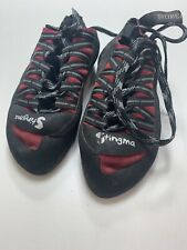 Boreal Teal Blue Fs Quatro Climbing Shoes Uk 4.5 Us M 5.5