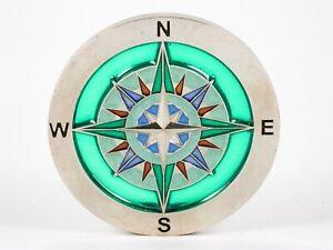"""Geocoin """"Compass Catcher"""", 2007, see through, selten, unaktiviert"""