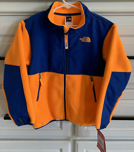 "NEW ~ THE NORTH FACE ""Denali"" Toddler/Youth Boy's R KOI Orange Jacket~~Size 6"