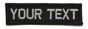 1x3.75 Nametape Custom Name Fits Operator Hats Military  Patch
