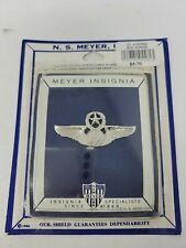Vintage NS Meyer Insignia Chief Aircrew Pin Eagle NIP NEW US Air Force