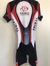 PRIMAL Cycling Racing Bib Unitard TRI Skinsuit Triathlon Speedsuit Sz M