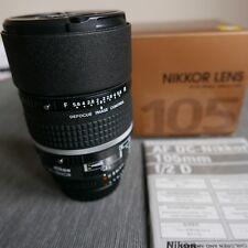 Nikon AFD 105mm f2.0 Defocus Control Lens objektiv - NEW
