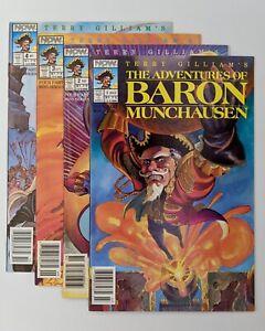 The Adventures of Baron Munchausen #1-4 Complete 1 2 3 4 LOT (NOW Comics 1989)