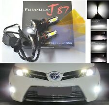 LED Kit G5 80W 9006 HB4 6000K White Two Bulbs Fog Light Replace Plug Play Lamp