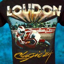 vtg 80s Laconia Motorcycle Race Loudon New Hampshire T-Shirt Xs motocross biker