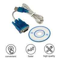 USB to RS232 Serial Port DB9 9 Pin Male COM Port Converter Cable Hot Z6U8