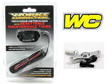 Works Connection Maintenance Tach Hour Meter and Mount Gauge Tachometer Engine