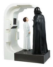 Hallmark Keepsake ROYAL OR REBEL 2016 Ornament Leia Vader MAGIC SOUND Star Wars