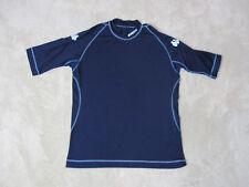 VINTAGE Kappa Soccer Jersey Shirt Adult Medium Navy Blue Dri Fit Futbol Mens 90s
