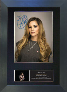 CHERYL COLE Signed Mounted Reproduction Autograph Photo Prints A4 237