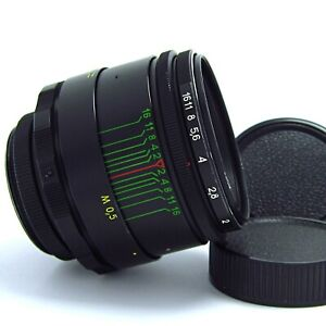 HELIOS 44-2 f2/58mm - SERVICED - MADE in USSR-1986 year №86037908