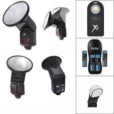 PRO LED FLASH + REMOTE + ACCESSORY KIT FOR NIKON D3000 D3100 D3200 D3300 D5000