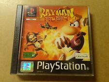 PS1 GAME / RAYMAN: RUSH (PLAYSTATION 1)