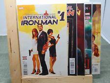 International Iron Man #1, 2, 3, 4 & 5 Marvel Comics CB5213