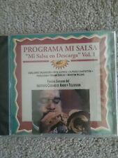 Programa Mi Salsa - Mi Salsa en Descarga Vol.1 CD Cuba Radio Television SEALED