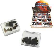 PKG TEKTITE MAGIC MOON ROCKS outer space healing stones NOVELTY BLACK ROCK NEW